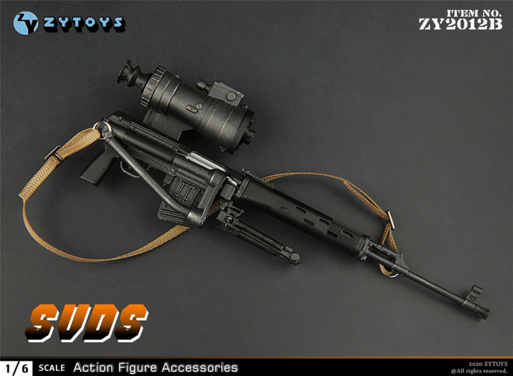 modernmilitary - NEW PRODUCT: ZY Toys: 1/6 SVD Rifle by ZY TOYS (2 color options) B_006_10