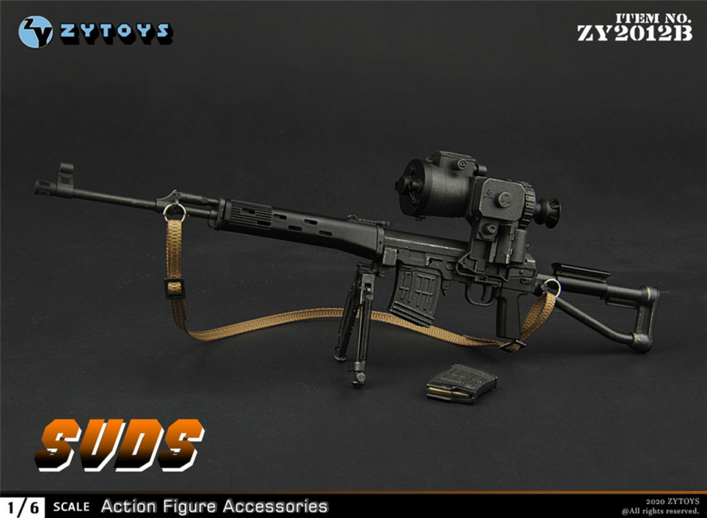 modernmilitary - NEW PRODUCT: ZY Toys: 1/6 SVD Rifle by ZY TOYS (2 color options) B_008_10
