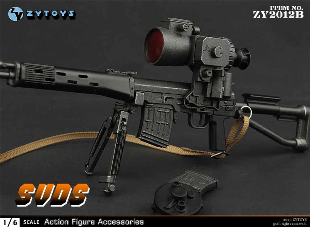 modernmilitary - NEW PRODUCT: ZY Toys: 1/6 SVD Rifle by ZY TOYS (2 color options) B_010_10