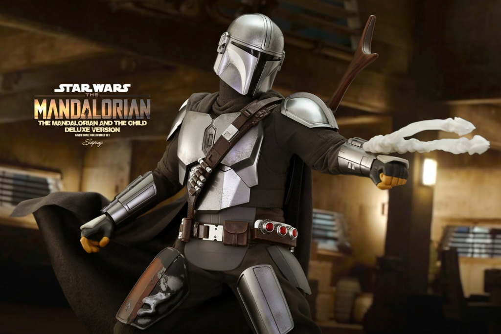 Sci-Fi - NEW PRODUCT: HOT TOYS: THE MANDALORIAN THE MANDALORIAN AND THE CHILD 1/6TH SCALE COLLECTIBLE SET (Standard and Deluxe) Ba999d10