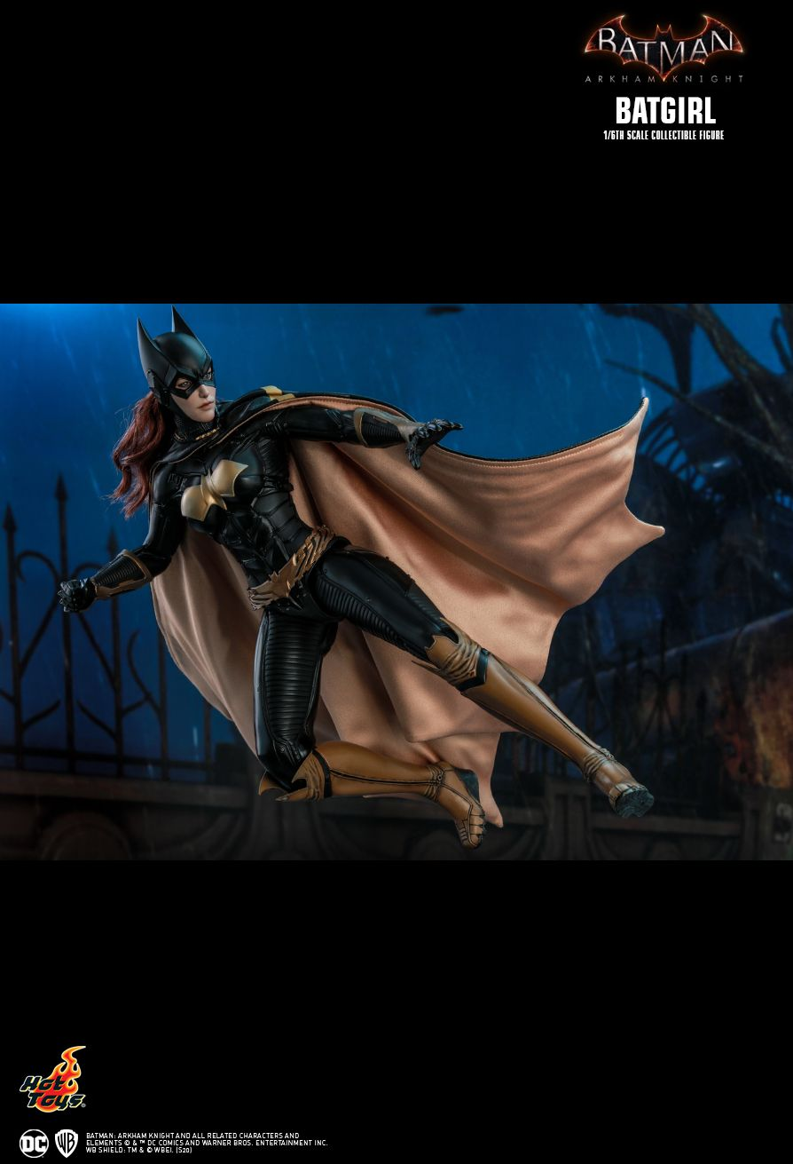 Batman - NEW PRODUCT: HOT TOYS: BATMAN: ARKHAM KNIGHT BATGIRL 1/6TH SCALE COLLECTIBLE FIGURE Bb770410