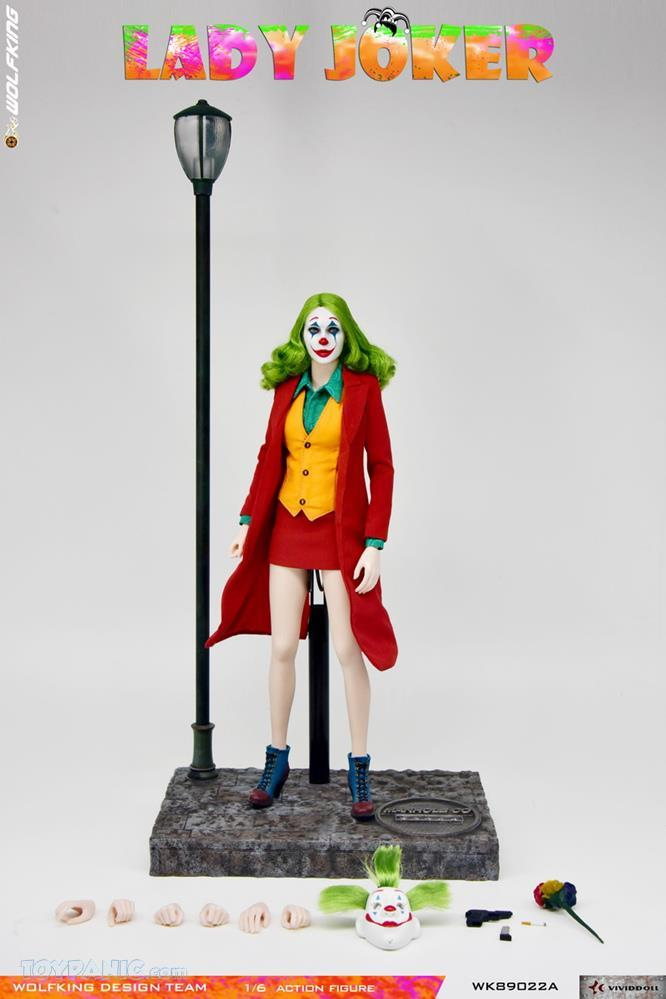 Wolfking - NEW PRODUCT: Wolfking: 1/6 scale Female Joker figure (Standard and Deluxe Editions) Bc338010