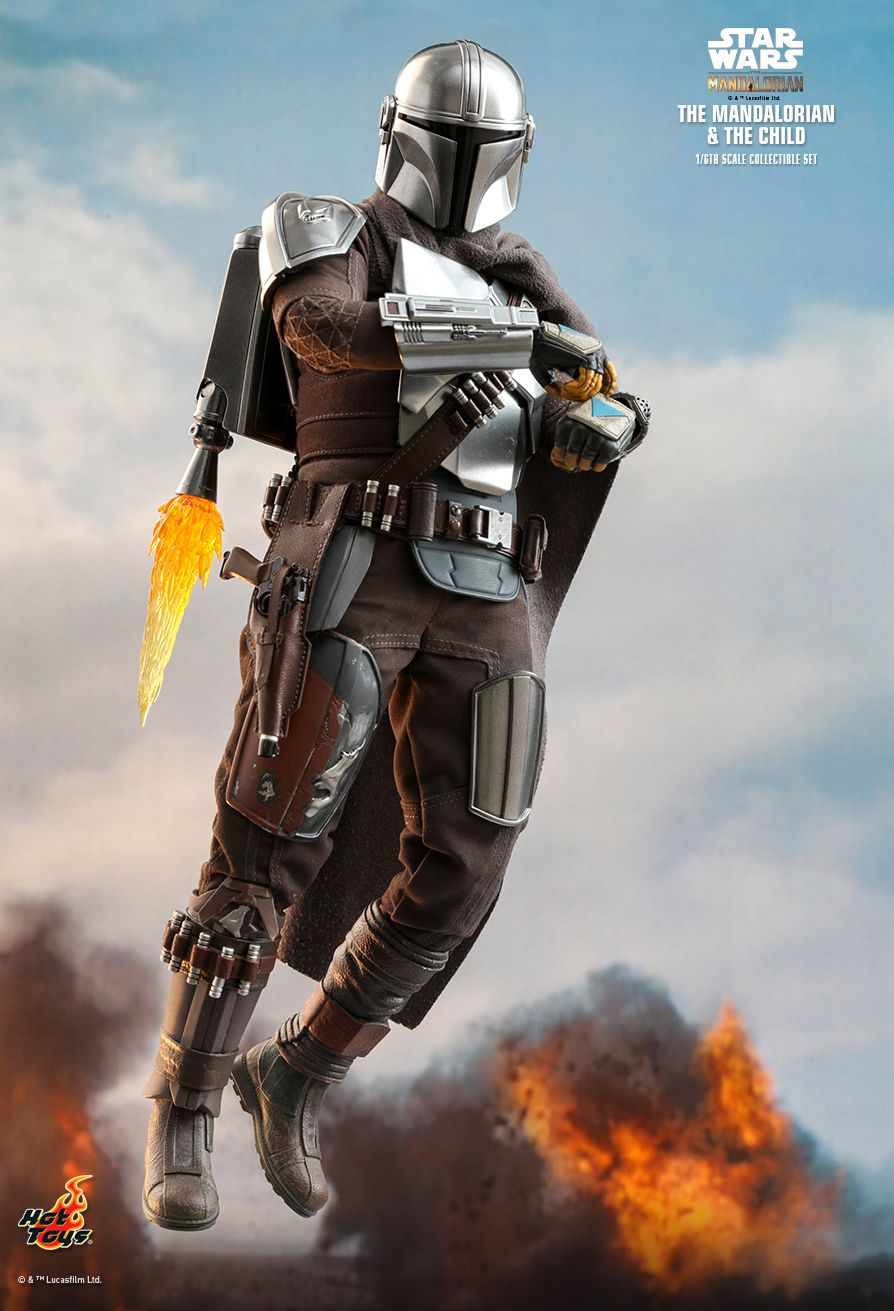 Sci-Fi - NEW PRODUCT: HOT TOYS: THE MANDALORIAN THE MANDALORIAN AND THE CHILD 1/6TH SCALE COLLECTIBLE SET (Standard and Deluxe) Bd63d510