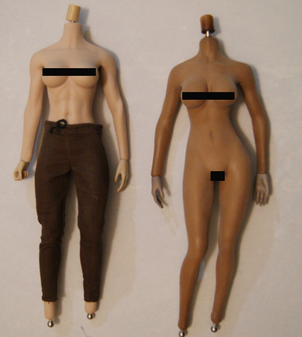 Dyeing Phicen figures with Rit Dye (NSFW) Bodies10