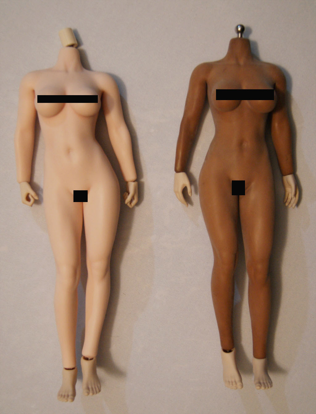 Dyeing Phicen figures with Rit Dye (NSFW) Bodies11