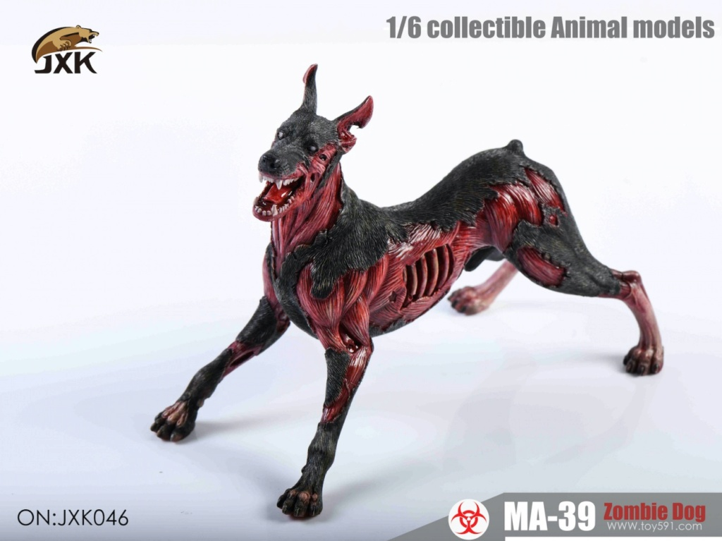 Dog - NEW PRODUCT: JXK: 1/6 Zombie Dog 2.0 JXK046 Resident Evil Zombie Dog Doberman C0a15110