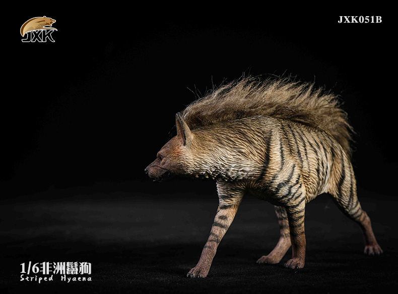 Dog - NEW PRODUCT: JXK: Caucasian Shepherd Dog JXK050 & African Hyena JXK051 Striped Hyena C12