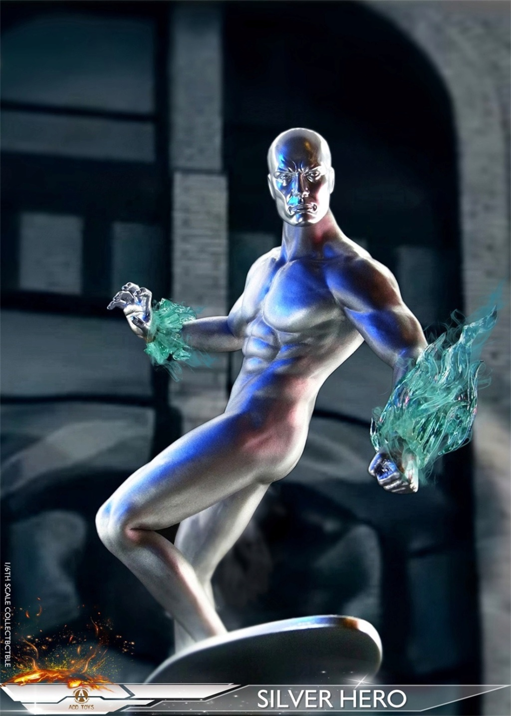 NEW PRODUCT: ADD Toys: 1/6 scale Silver Man/Silver Hero AD05 C18b2410
