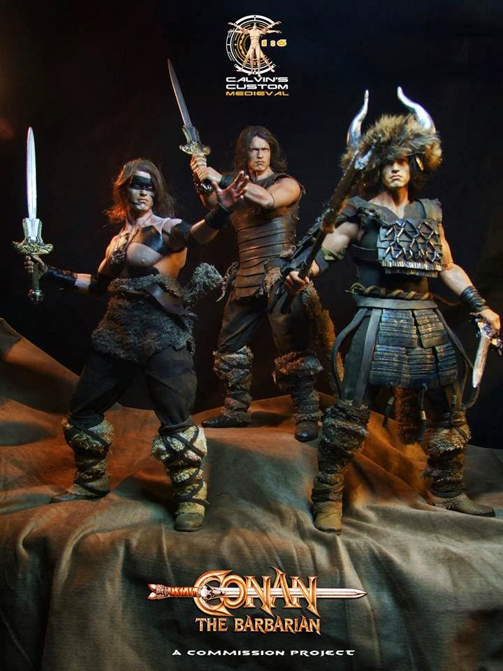 schwarzenegger - Conan the Barbarian Set A by Mr Toys (MT2018-02) review C210