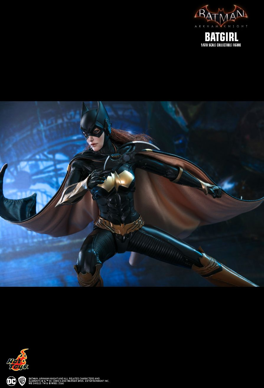 batman - NEW PRODUCT: HOT TOYS: BATMAN: ARKHAM KNIGHT BATGIRL 1/6TH SCALE COLLECTIBLE FIGURE C2825910