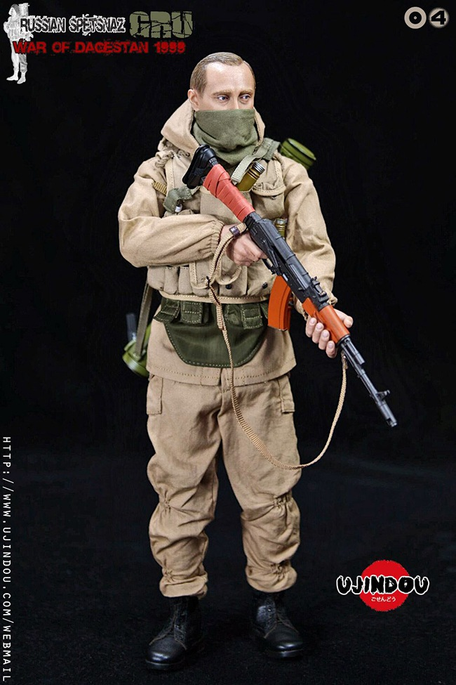 UJINDOU -  NEW PRODUCT: UJINDOU: 1/6 Russian Special Forces-Dagestan War 1999 #UD9004 [Update and update] C532f710