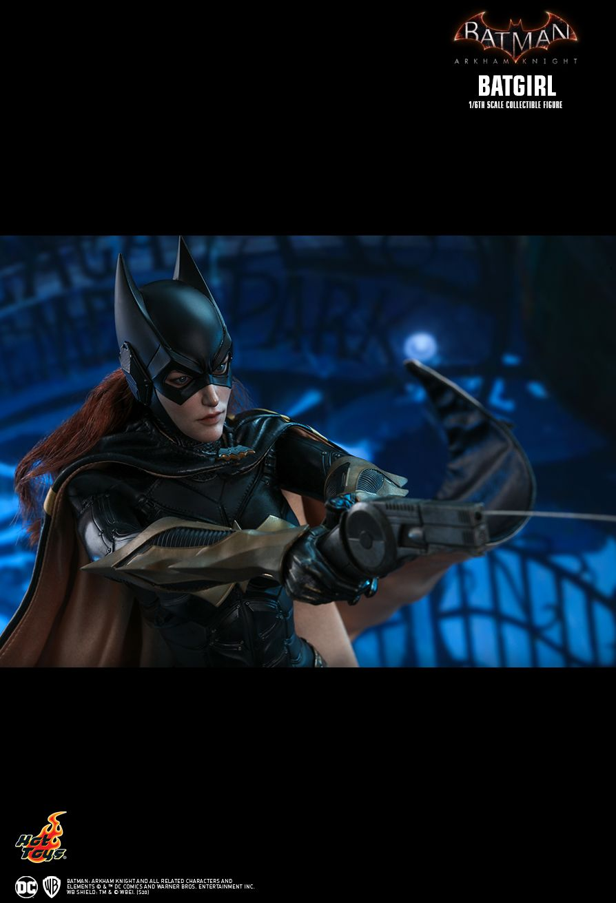 batman - NEW PRODUCT: HOT TOYS: BATMAN: ARKHAM KNIGHT BATGIRL 1/6TH SCALE COLLECTIBLE FIGURE Ca71de10