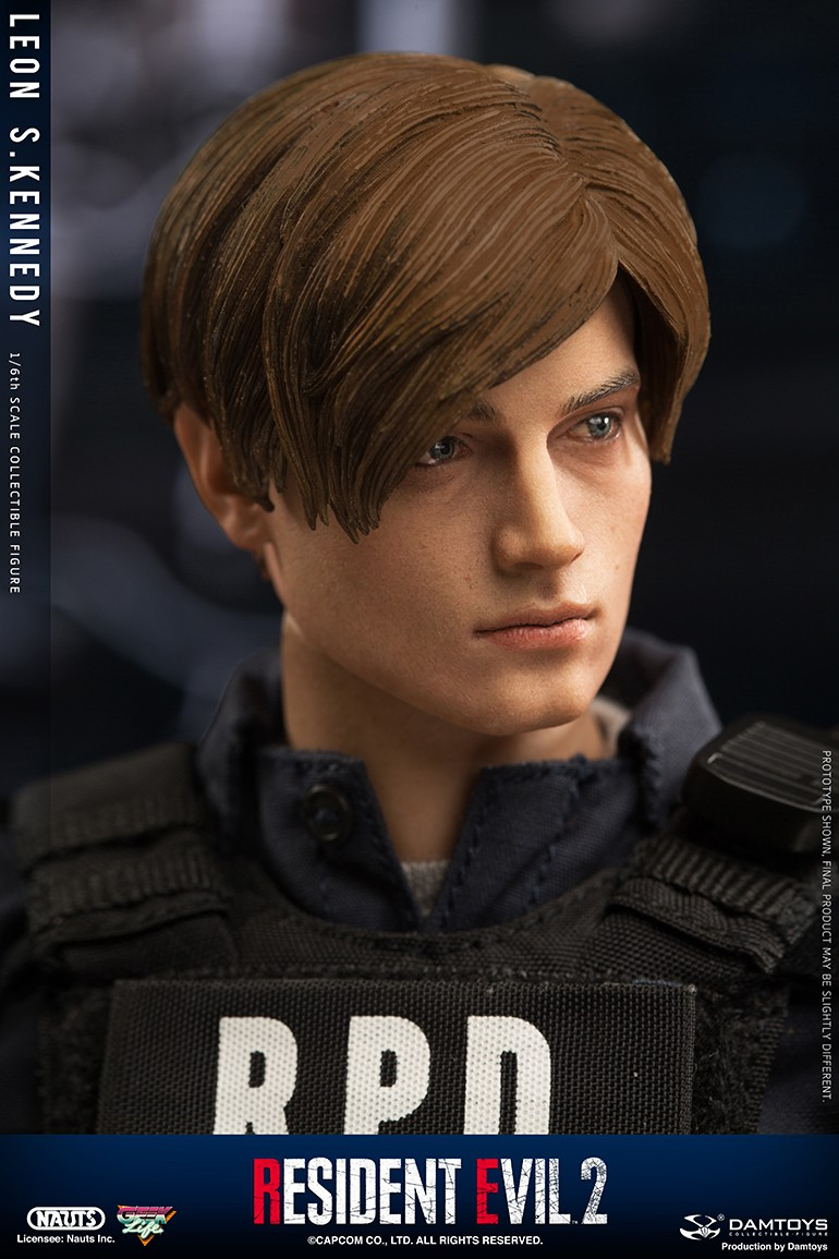 "Sci-Fi - NEW PRODUCT: NAUTS & DAMTOYS: 1/6 ""Resident Evil 2""-LEON S.KENNEDY/Lyon S. Kennedy remake #DMS030  Cbe2ea10"
