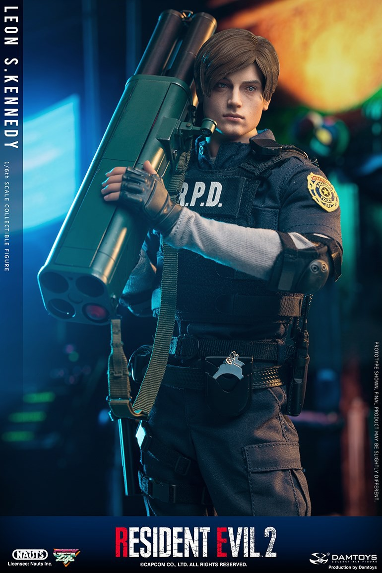 "Sci-Fi - NEW PRODUCT: NAUTS & DAMTOYS: 1/6 ""Resident Evil 2""-LEON S.KENNEDY/Lyon S. Kennedy remake #DMS030  Cccbf310"