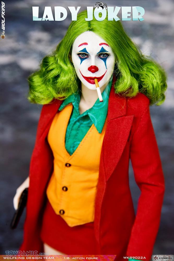 Wolfking - NEW PRODUCT: Wolfking: 1/6 scale Female Joker figure (Standard and Deluxe Editions) Cf0f6a10