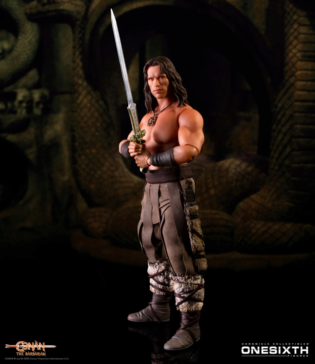 NEW PRODUCT: Chronicle Collectibles: OneSixth Conan the Barbarian Figure Chroni11