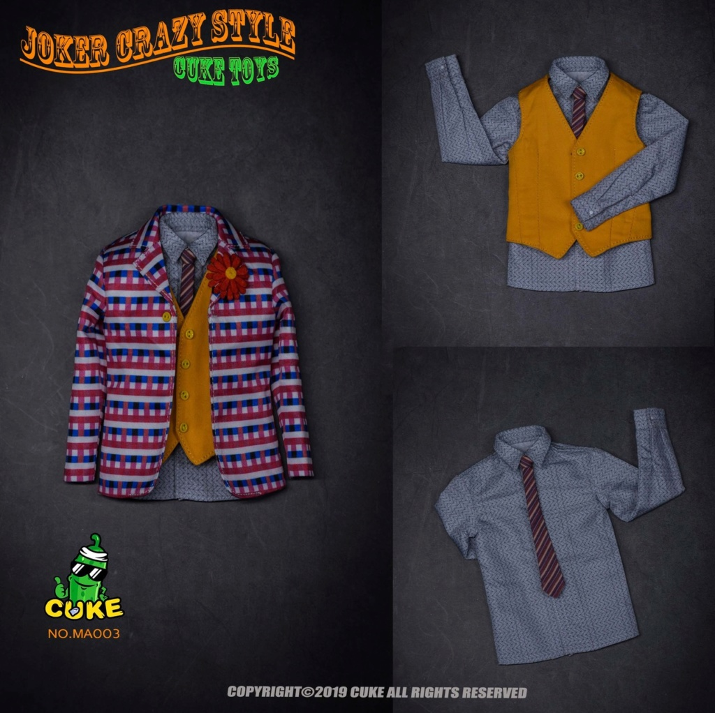 NEW PRODUCT: Cuke Toys: [CK-MA003] 1/6 Joker Crazy Style Clothing Set Ck-ma021