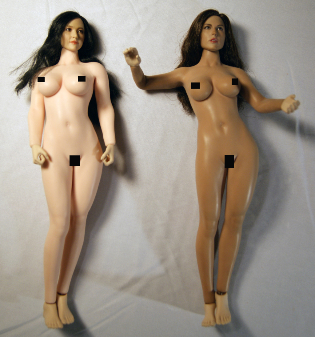 Dyeing Phicen figures with Rit Dye (NSFW) Compar10