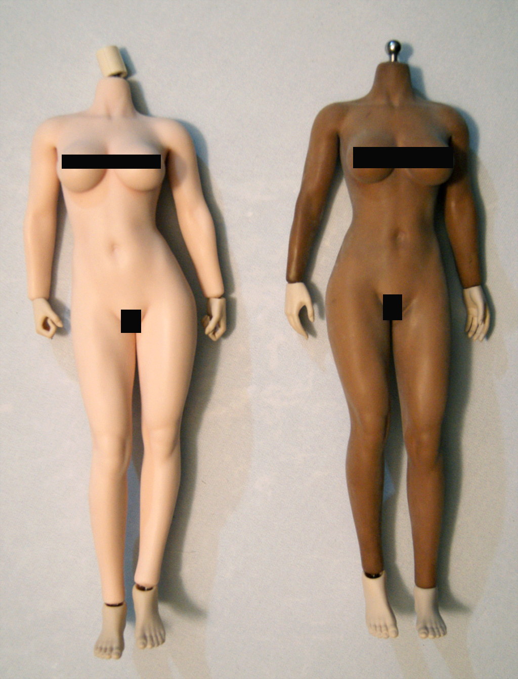 Dyeing Phicen figures with Rit Dye (NSFW) Compar11