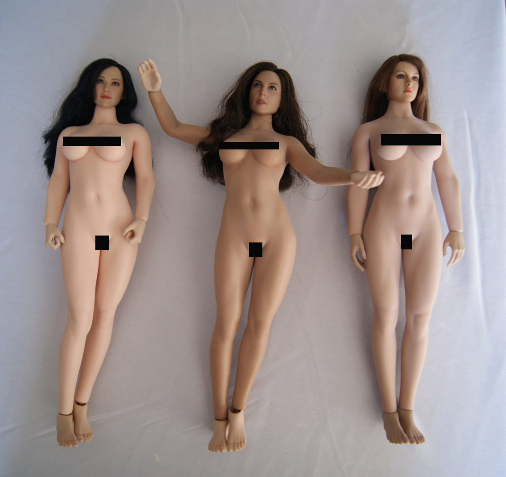 Dyeing Phicen figures with Rit Dye (NSFW) Compar12