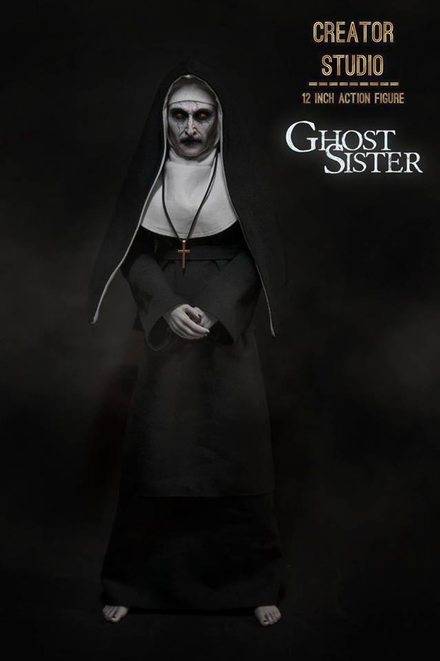 NEW PRODUCT: [CRS-001] Ghost Sister 1:6 Female Boxed Figure by Creator Studio Cs-00118