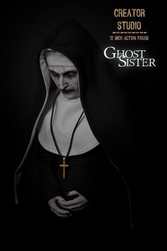 NEW PRODUCT: [CRS-001] Ghost Sister 1:6 Female Boxed Figure by Creator Studio Cs-00120