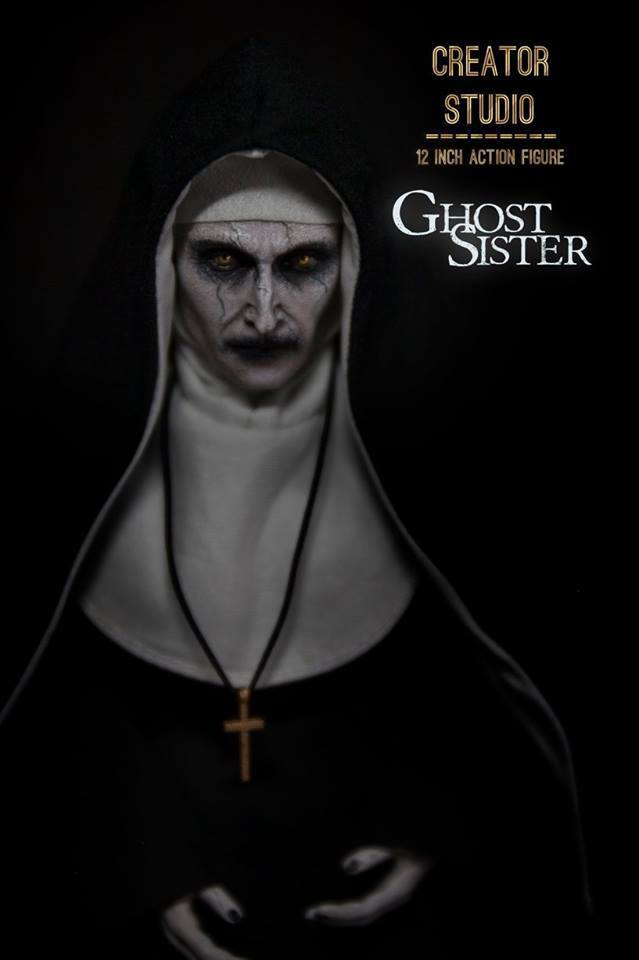 NEW PRODUCT: [CRS-001] Ghost Sister 1:6 Female Boxed Figure by Creator Studio Cs-00125