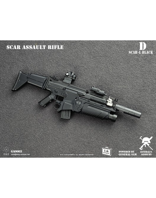 NEW PRODUCT: General's Armoury GA003 1/6 Scale SCAR Assault Rifle in 4 styles D-2-5210