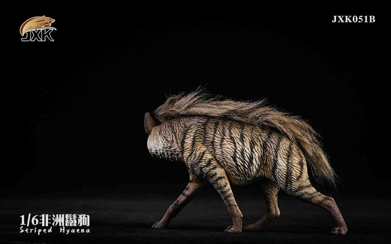 Dog - NEW PRODUCT: JXK: Caucasian Shepherd Dog JXK050 & African Hyena JXK051 Striped Hyena D12