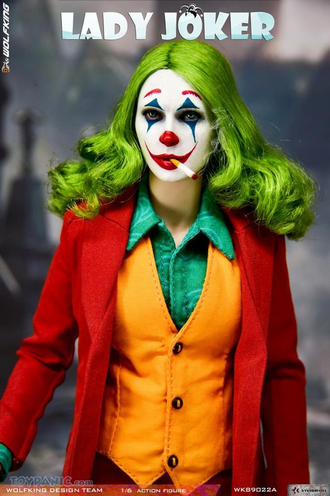 Wolfking - NEW PRODUCT: Wolfking: 1/6 scale Female Joker figure (Standard and Deluxe Editions) D5f84310