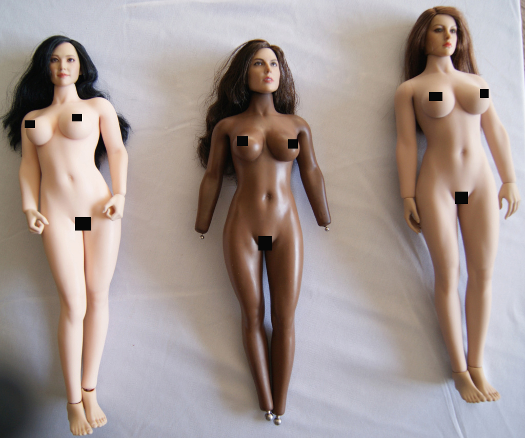 Dyeing Phicen figures with Rit Dye (NSFW) Dark1110