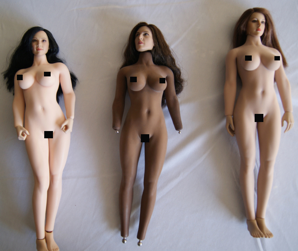 Dyeing Phicen figures with Rit Dye (NSFW) Dark2110