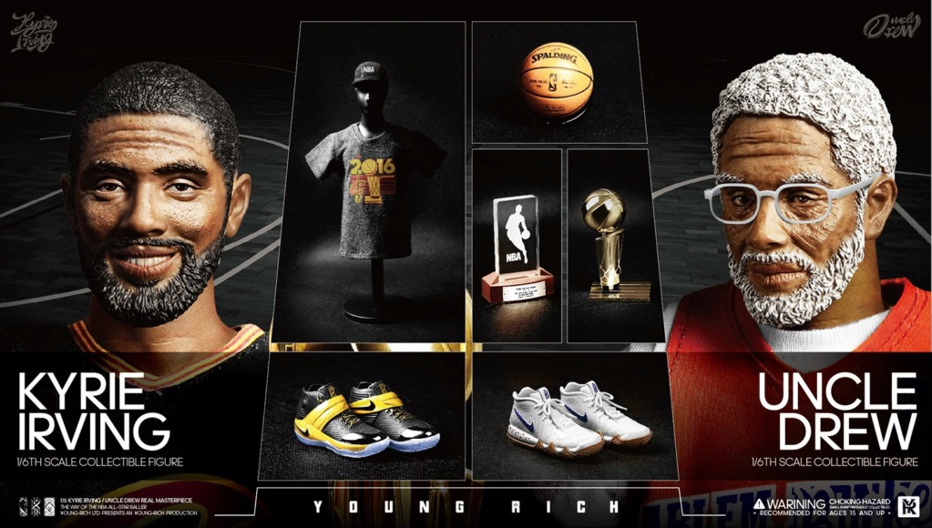 YoungRichToys - NEW PRODUCT: 1/6 Scale YOUNG RICH TOYS B001 KYRIE IRVING & UNCLE DREW Action Figure (standard & Deluxe) Ddd9d910