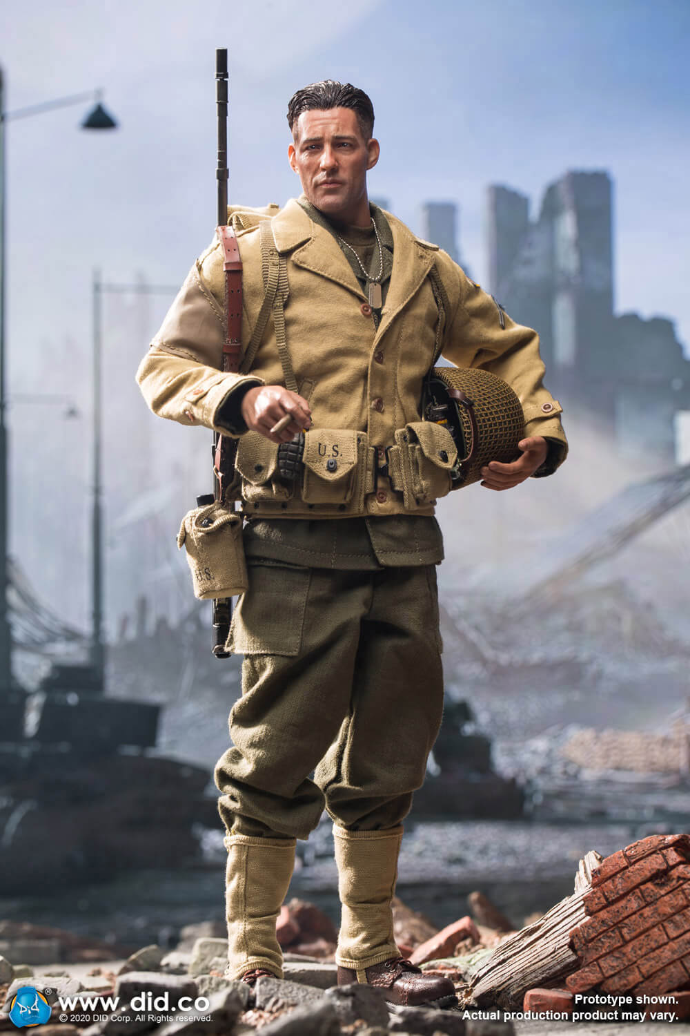 did - NEW PRODUCT: DiD: A80141 WWII US 2nd Ranger Battalion Private First Class Reiben 1/6 scale figure Did-pr10
