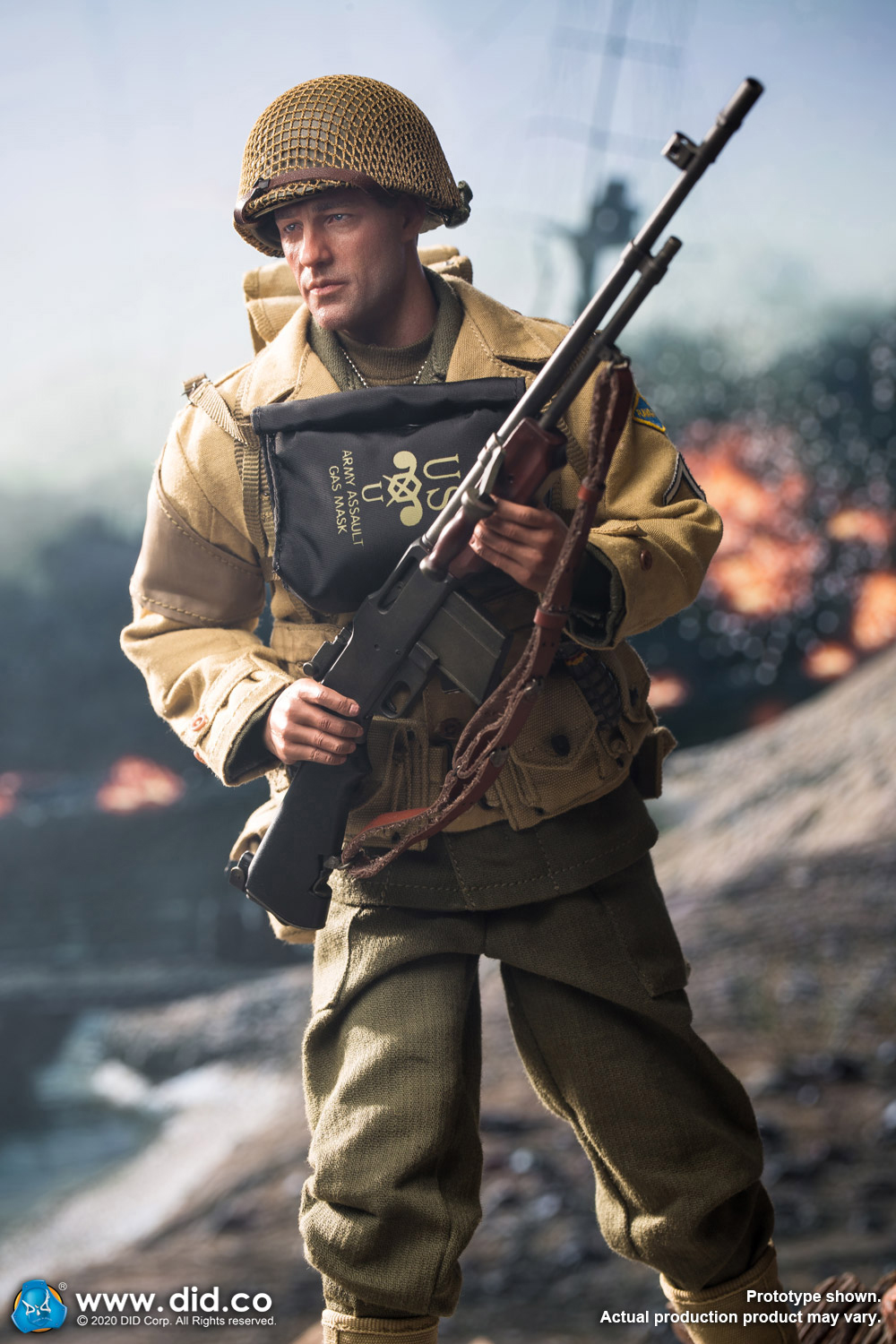did - NEW PRODUCT: DiD: A80141 WWII US 2nd Ranger Battalion Private First Class Reiben 1/6 scale figure Did-pr11