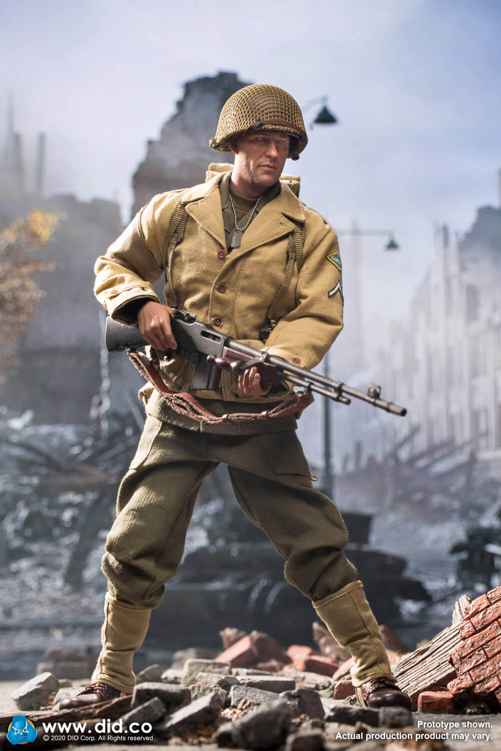 male - NEW PRODUCT: DiD: A80141 WWII US 2nd Ranger Battalion Private First Class Reiben 1/6 scale figure Did-pr12