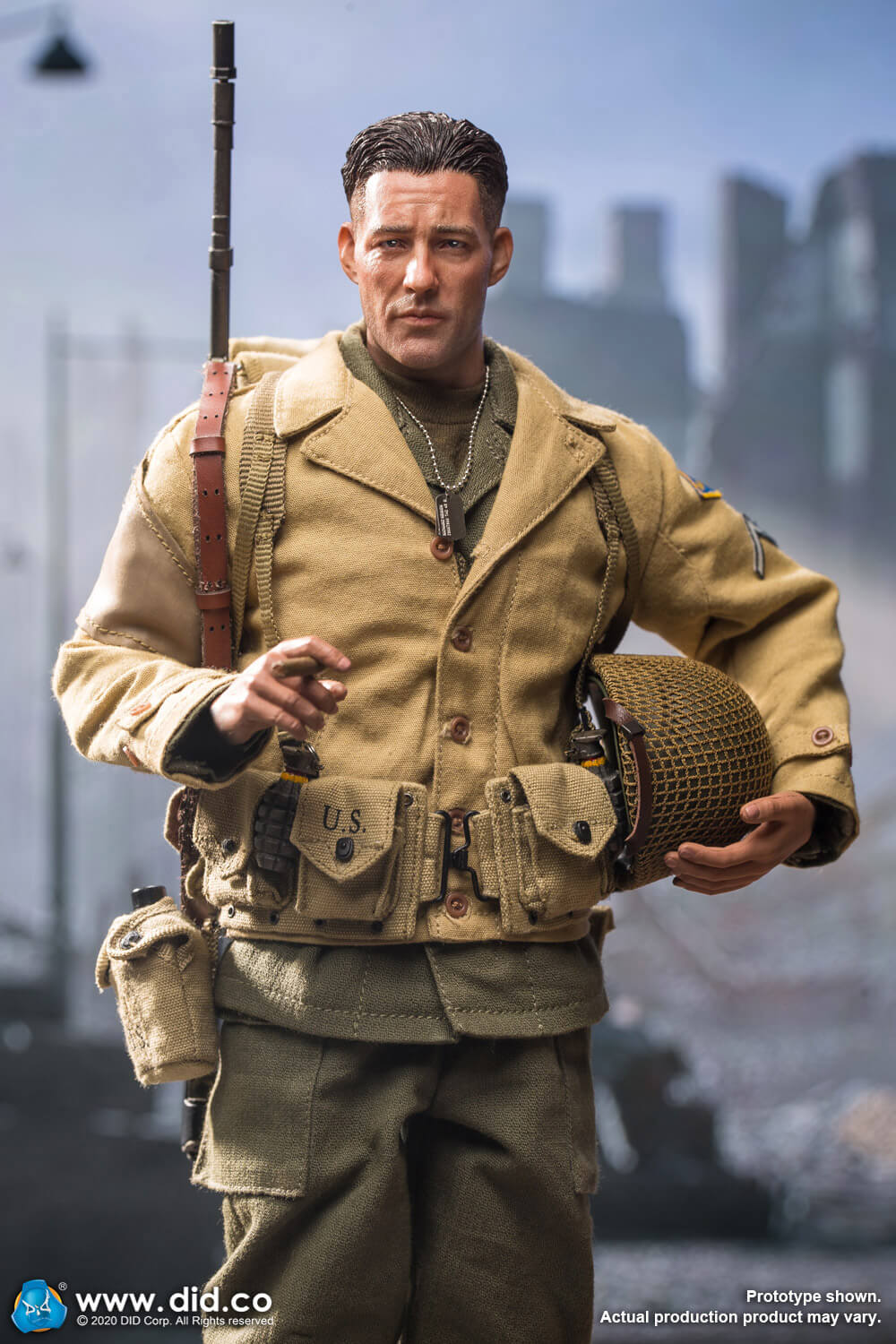 did - NEW PRODUCT: DiD: A80141 WWII US 2nd Ranger Battalion Private First Class Reiben 1/6 scale figure Did-pr14