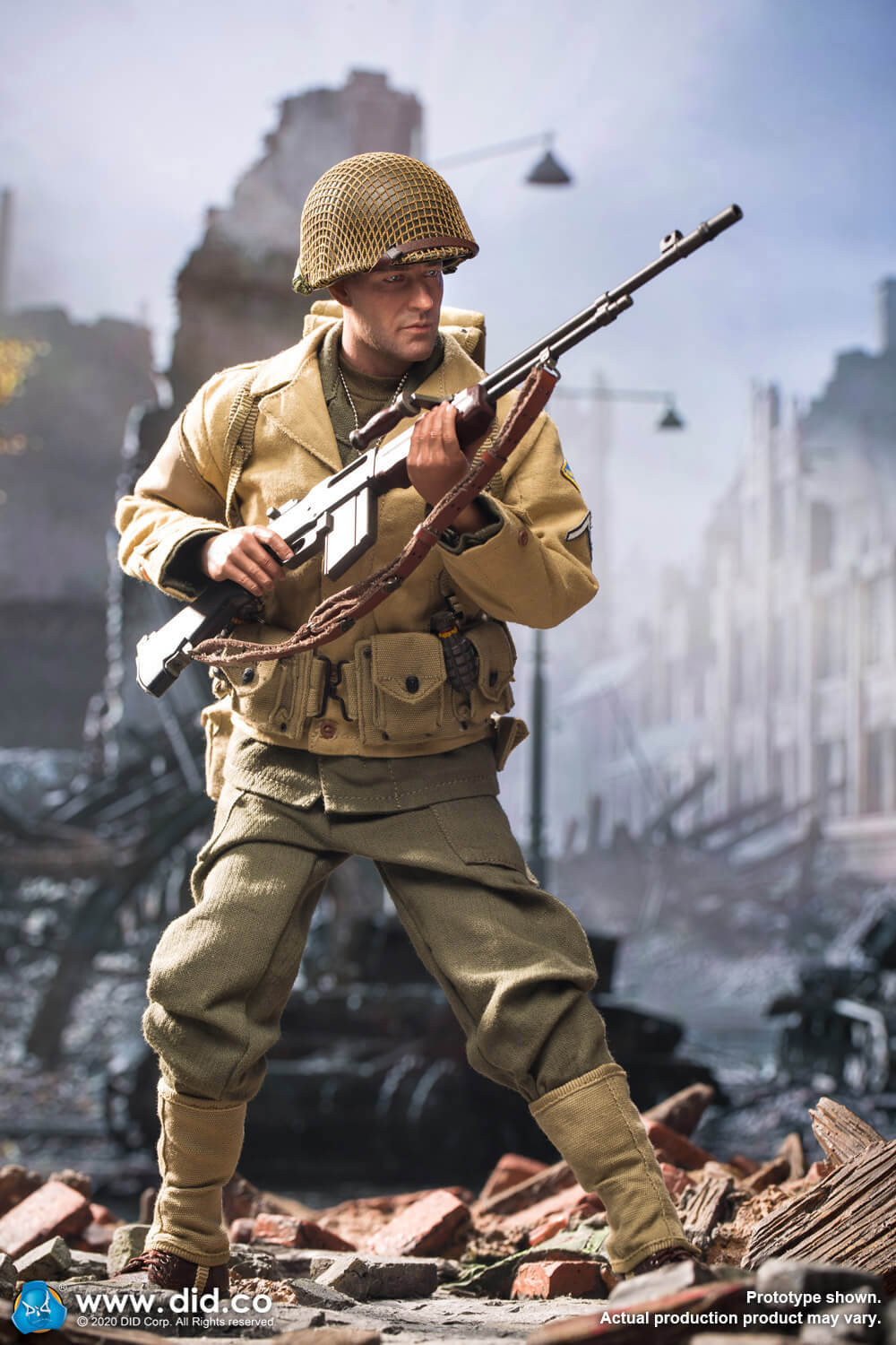 did - NEW PRODUCT: DiD: A80141 WWII US 2nd Ranger Battalion Private First Class Reiben 1/6 scale figure Did-pr16