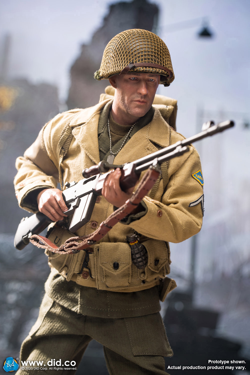 male - NEW PRODUCT: DiD: A80141 WWII US 2nd Ranger Battalion Private First Class Reiben 1/6 scale figure Did-pr17