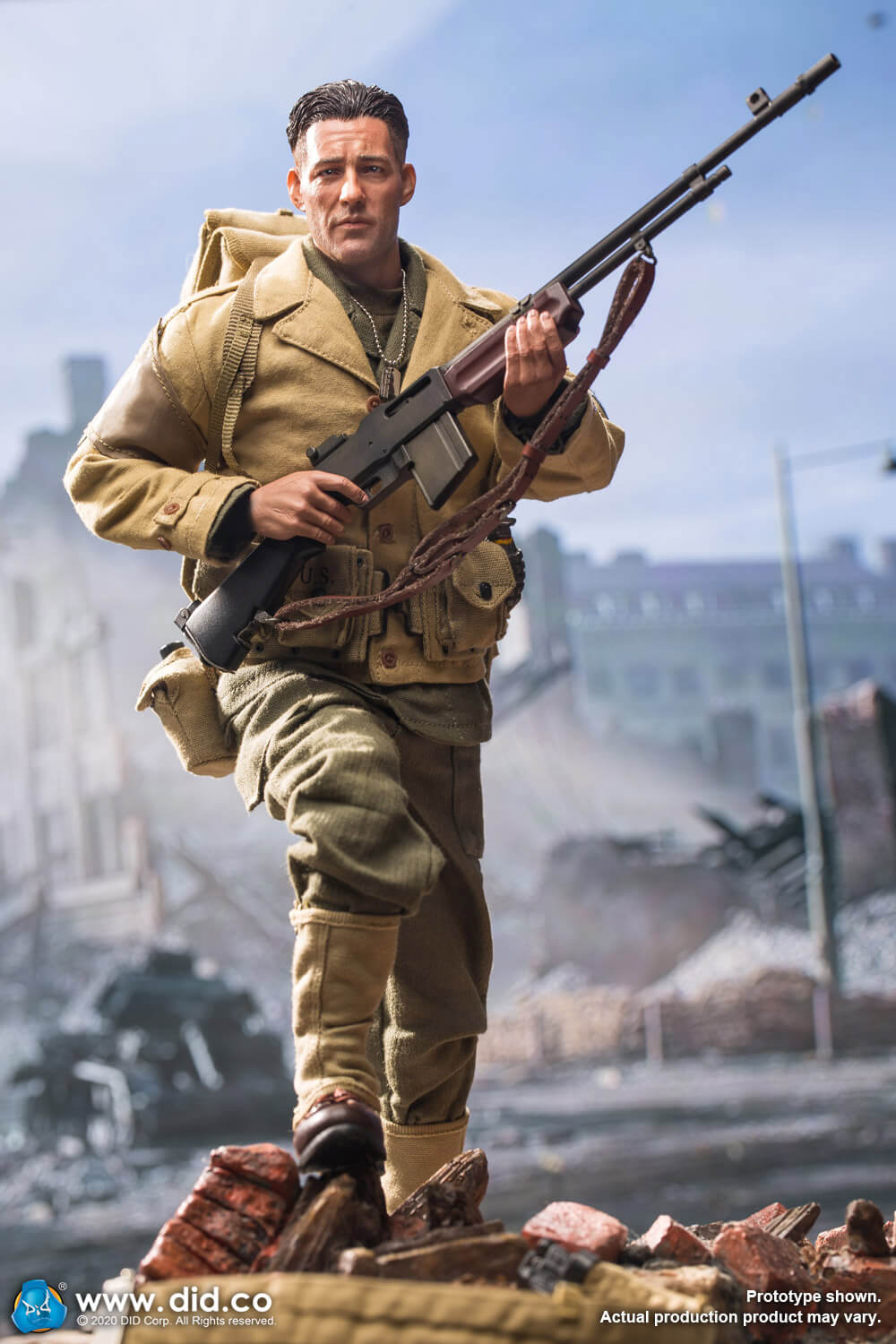 male - NEW PRODUCT: DiD: A80141 WWII US 2nd Ranger Battalion Private First Class Reiben 1/6 scale figure Did-pr18