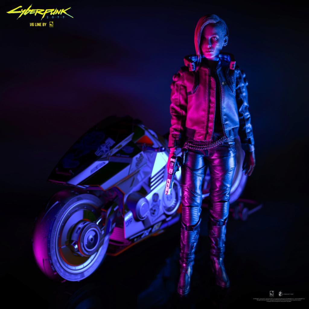 Sci-Fi - NEW PRODUCT: CYBERPUNK 2077: V FEMALE 1/6 ARTICULATED FIGURE (stand alone & with bike) Dsc03210