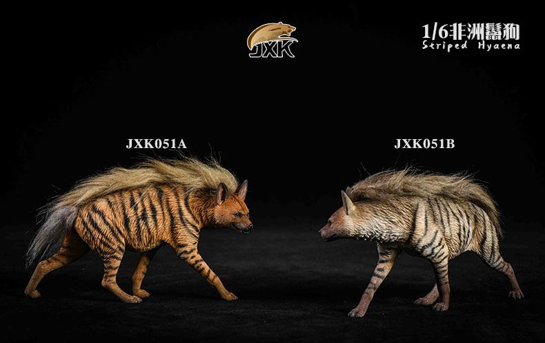 Dog - NEW PRODUCT: JXK: Caucasian Shepherd Dog JXK050 & African Hyena JXK051 Striped Hyena E13