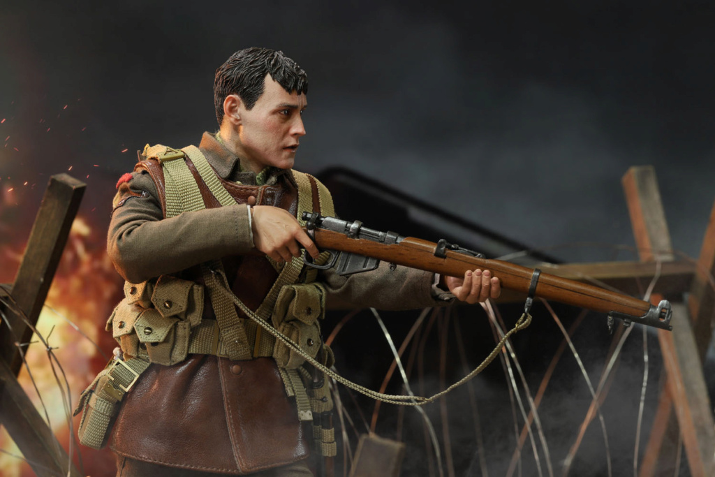 military - NEW PRODUCT: DiD: B11011 WWI British Infantry Lance Corporal William & Trench Diorama Set (UPDATED INFORMATION) E3b42910