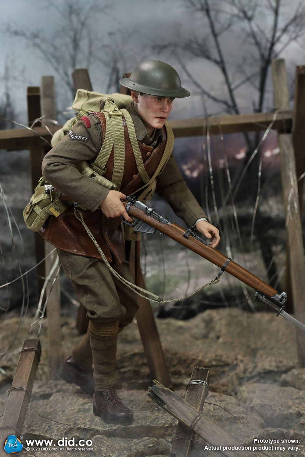 military - NEW PRODUCT: DiD: B11011 WWI British Infantry Lance Corporal William & Trench Diorama Set (UPDATED INFORMATION) E3b81010