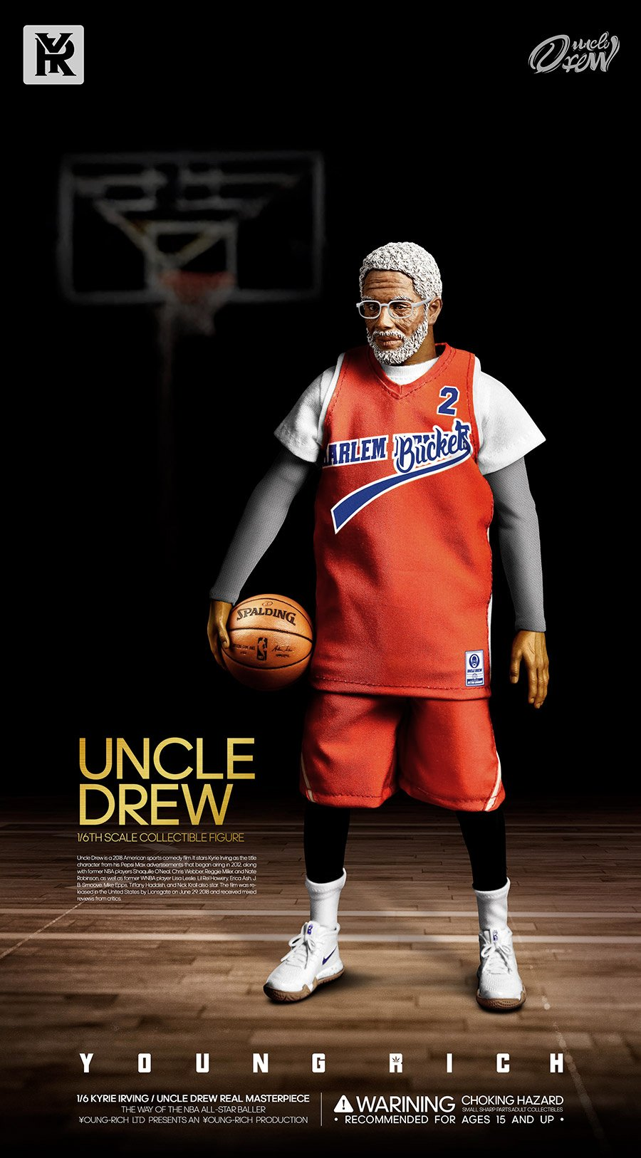 YoungRichToys - NEW PRODUCT: 1/6 Scale YOUNG RICH TOYS B001 KYRIE IRVING & UNCLE DREW Action Figure (standard & Deluxe) E5367c10