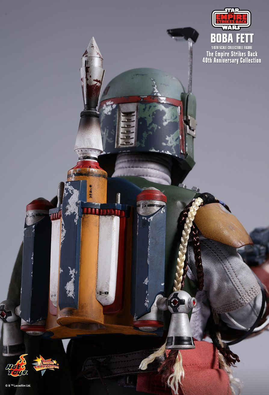 EmpireStrikesBack - NEW PRODUCT: HOT TOYS: STAR WARS: THE EMPIRE STRIKES BACK™ BOBA FETT™ (STAR WARS: THE EMPIRE STRIKES BACK 40TH ANNIVERSARY COLLECTION) 1/6TH SCALE COLLECTIBLE FIGURE E909cb10