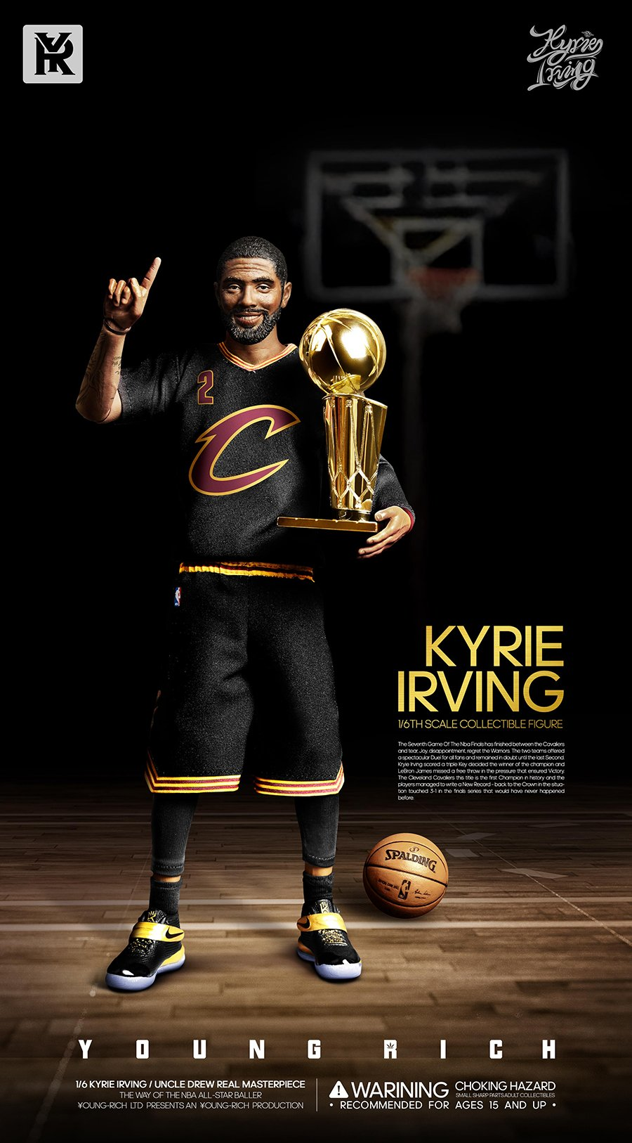 YoungRichToys - NEW PRODUCT: 1/6 Scale YOUNG RICH TOYS B001 KYRIE IRVING & UNCLE DREW Action Figure (standard & Deluxe) Eb297c10