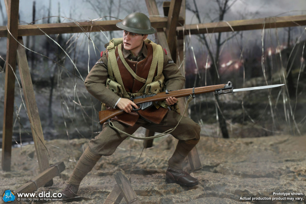 military - NEW PRODUCT: DiD: B11011 WWI British Infantry Lance Corporal William & Trench Diorama Set (UPDATED INFORMATION) F04e5110