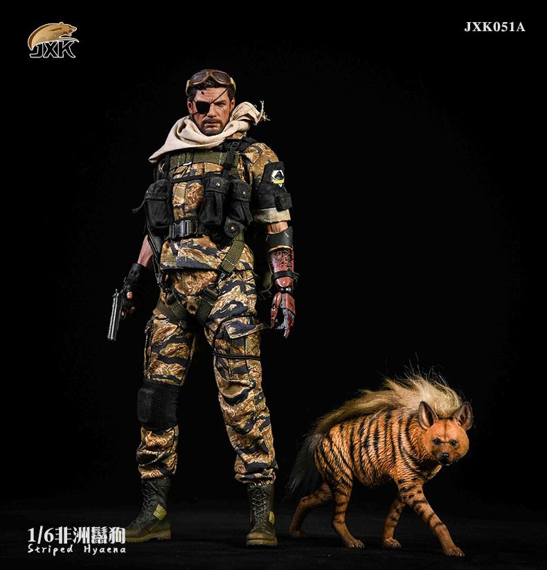 Dog - NEW PRODUCT: JXK: Caucasian Shepherd Dog JXK050 & African Hyena JXK051 Striped Hyena F10