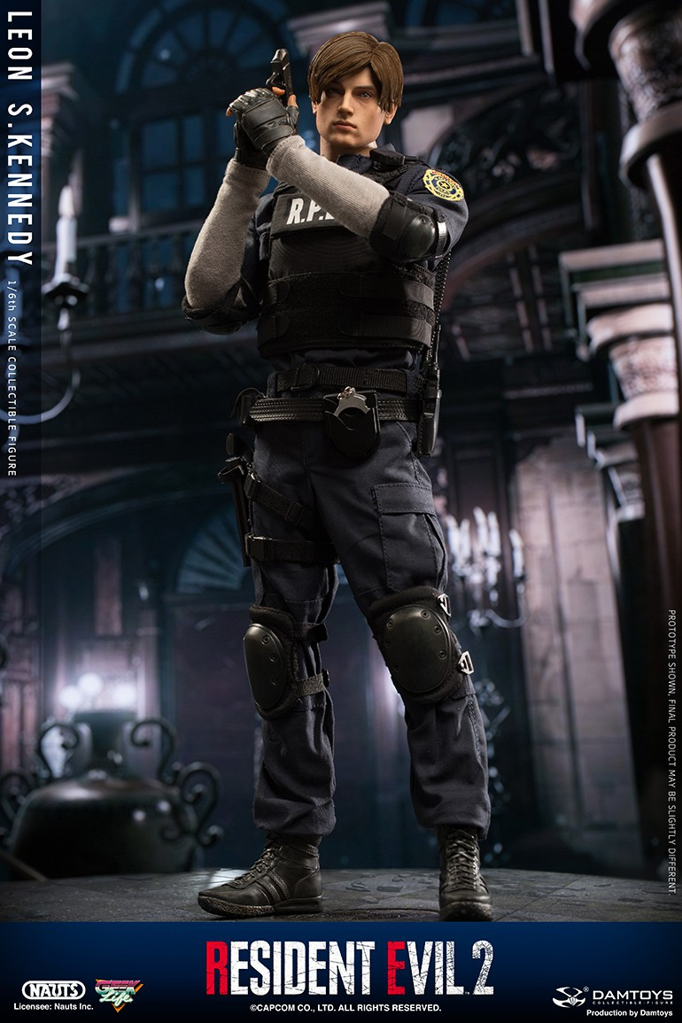 "Sci-Fi - NEW PRODUCT: NAUTS & DAMTOYS: 1/6 ""Resident Evil 2""-LEON S.KENNEDY/Lyon S. Kennedy remake #DMS030  F11bff10"